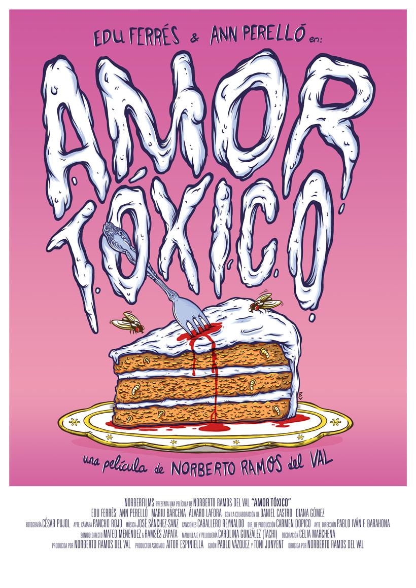 Amor Tóxico - Movie poster 2