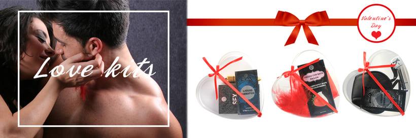 Pegatinas y banner de los kits San Valentín 2018 - SECRET PLAY -1