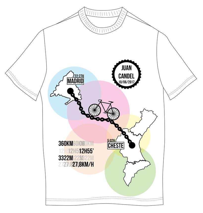 Diseño camiseta técnica regalo 0