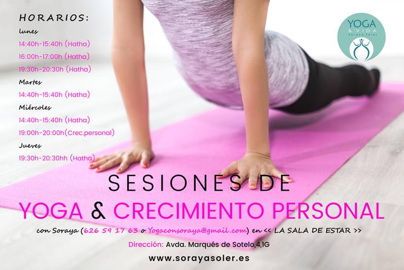 Cartel publicitario para Soraya Soler -1