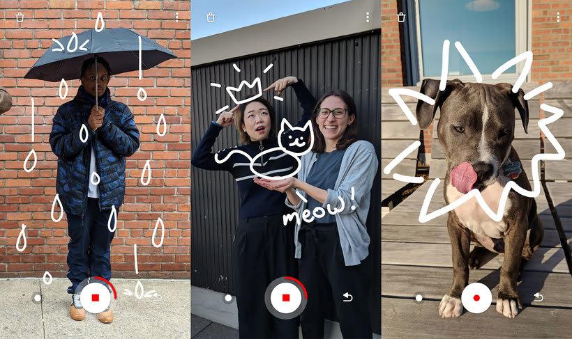 Just a Line, la app de Google para grafitear con realidad aumentada 3