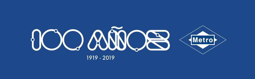 Propuesta para el concurso del centenario de Metro Madrid 1