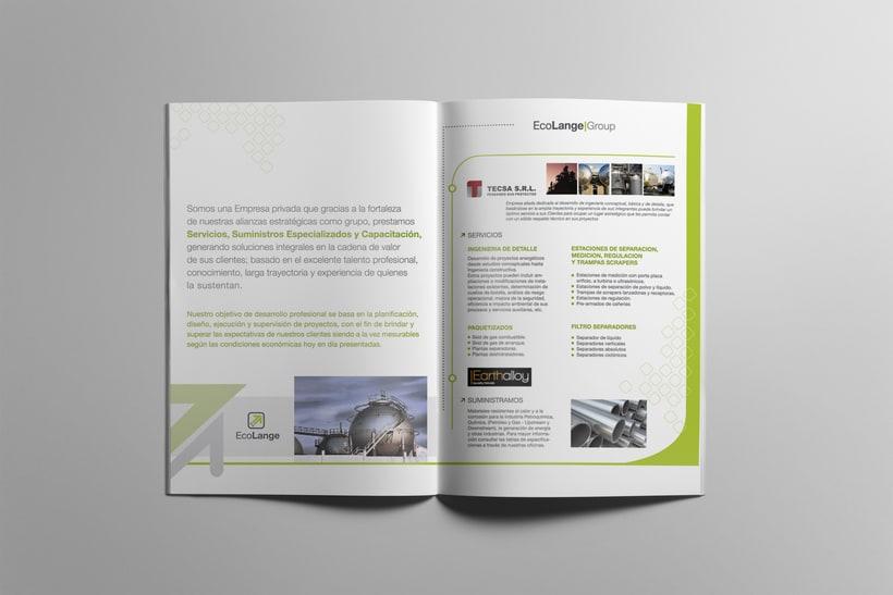 Identidad | Diseño brochure y tarjetas 1