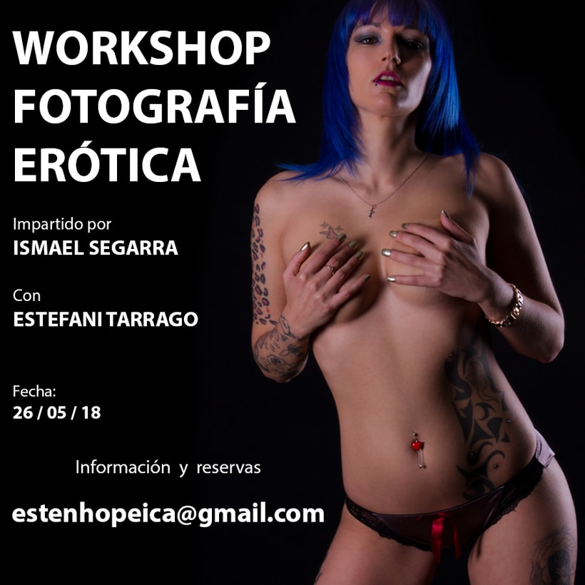 Taller de fotografía erótica en Barcelona 1