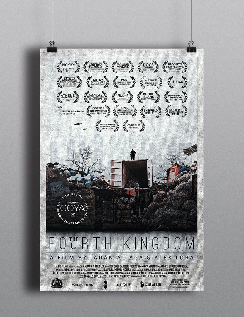Gráfica para cortometraje - The Fourth Kingdom 1