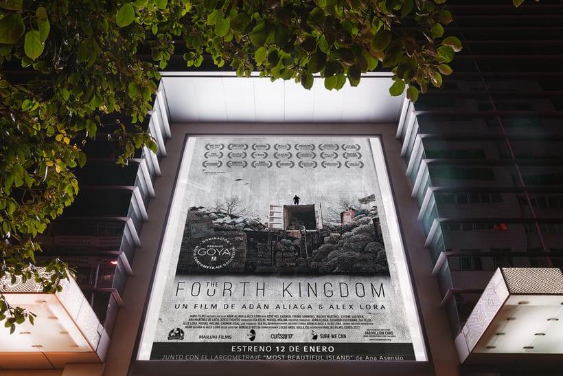 Gráfica para cortometraje - The Fourth Kingdom 3