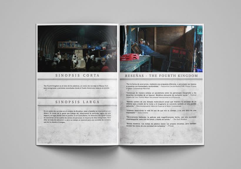 Gráfica para cortometraje - The Fourth Kingdom 5