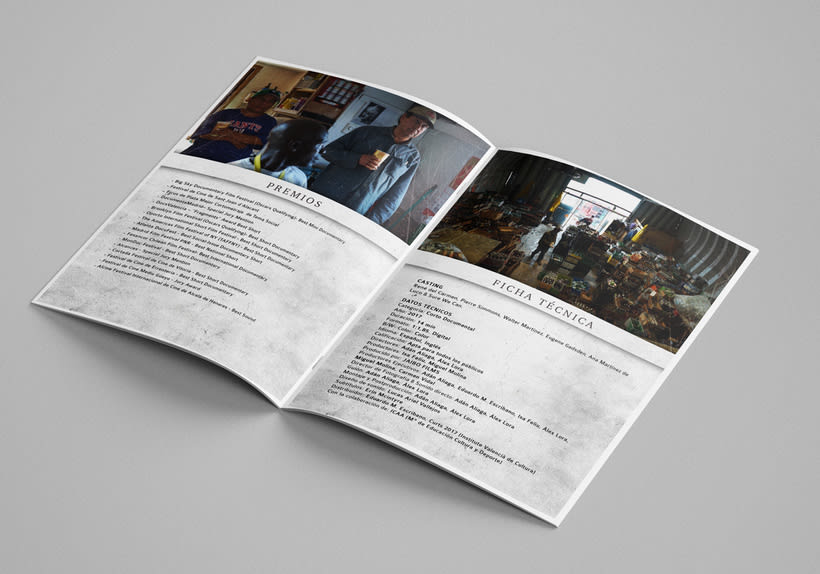 Gráfica para cortometraje - The Fourth Kingdom 6