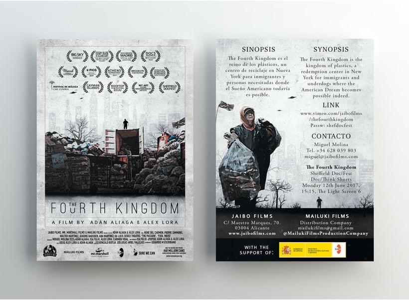 Gráfica para cortometraje - The Fourth Kingdom 8
