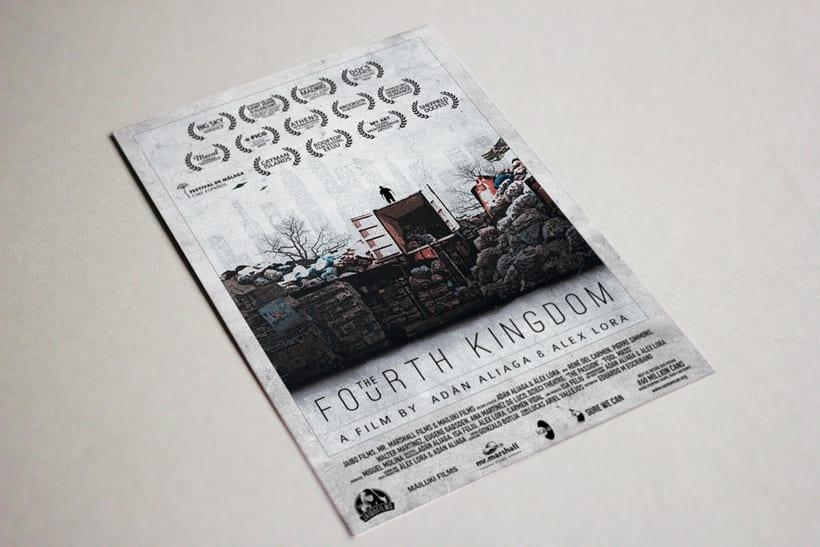 Gráfica para cortometraje - The Fourth Kingdom 10