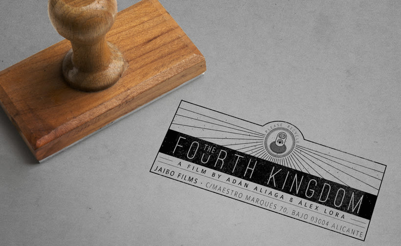Gráfica para cortometraje - The Fourth Kingdom 11