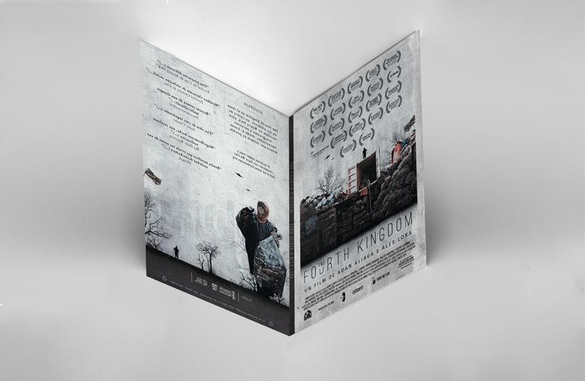 Gráfica para cortometraje - The Fourth Kingdom 14