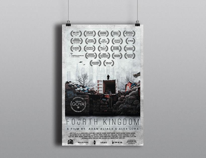 Gráfica para cortometraje - The Fourth Kingdom 0