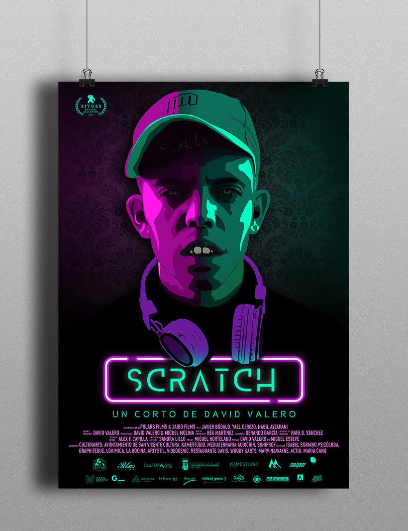 Cartel Scratch - Cortometraje 1
