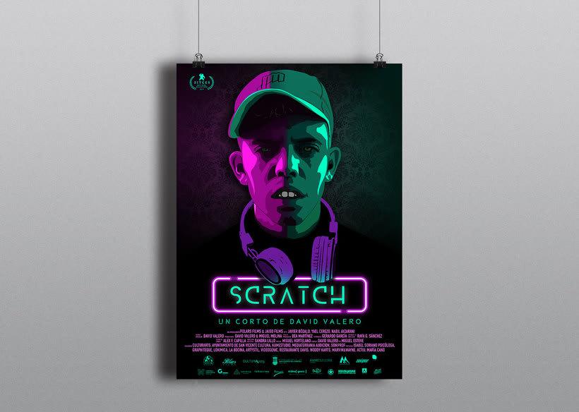 Cartel Scratch - Cortometraje 0