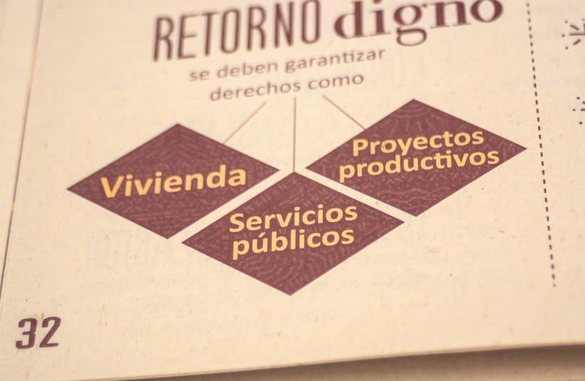 Fortalecimiento de actores para la restitución de tierras, cartilla 13