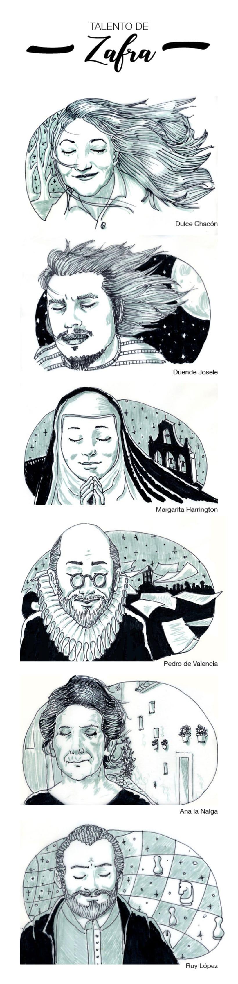 Zafra Soñada. Ilustraciones. 0