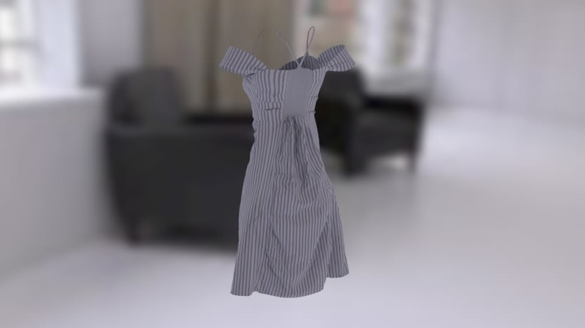 Dress/Clo3D 0