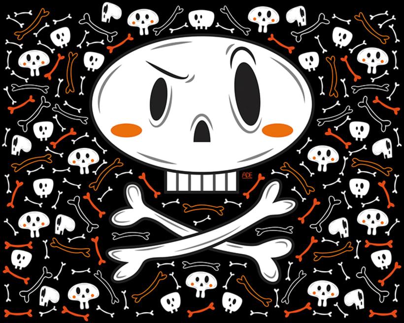 Pirate skull 0