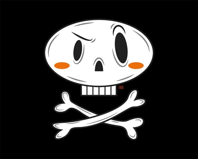 Pirate skull 1