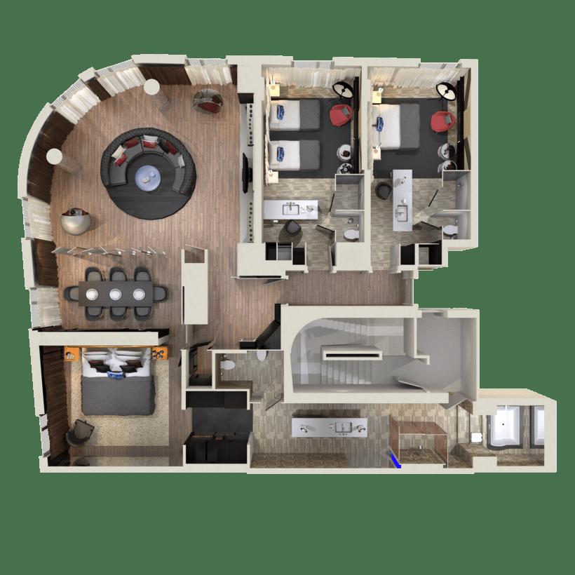 3D Floor Plans 0