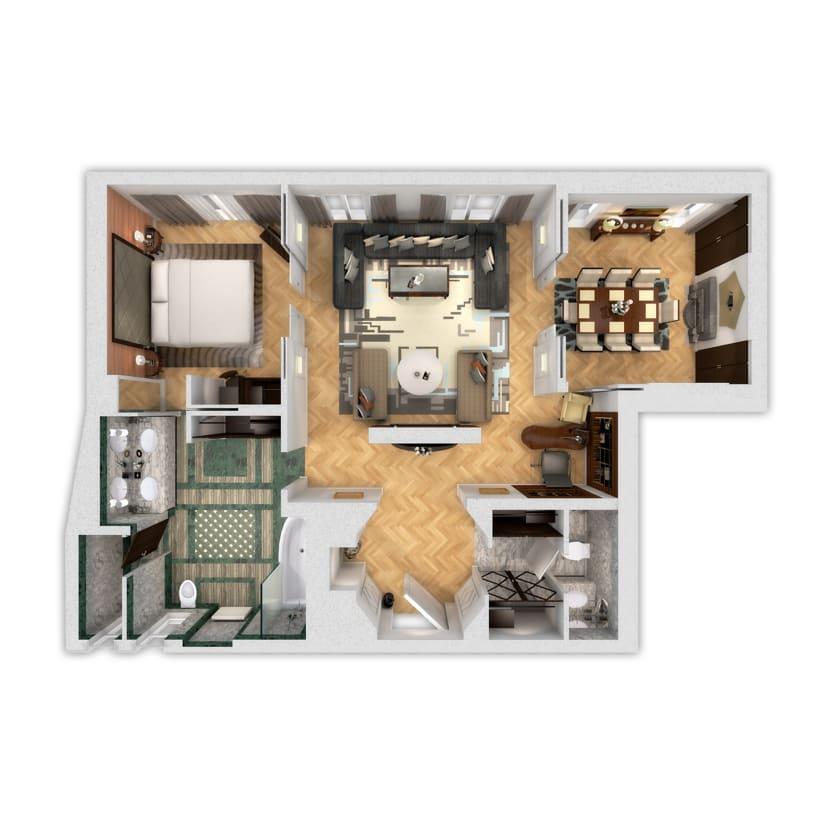 3D Floor Plans 2