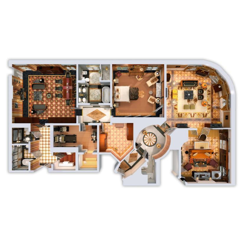 3D Floor Plans 3