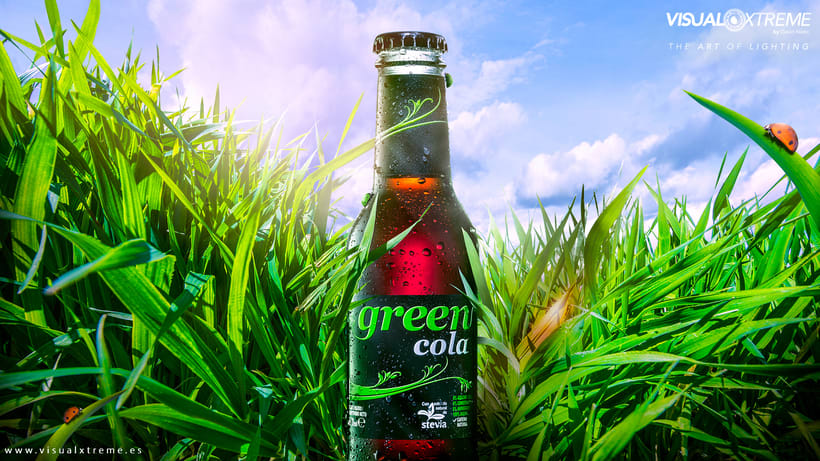 Drinks Photography Green Cola and Mariquitas... -1