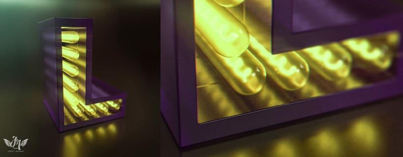 LETTERING 3D CON TODAS LAS DE LEY :) 1