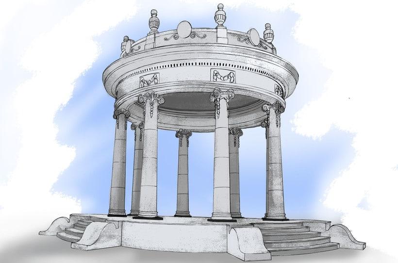 Ciénaga Magdalena, Mi tierra. De dibujos a lápiz a ilustración digital  2