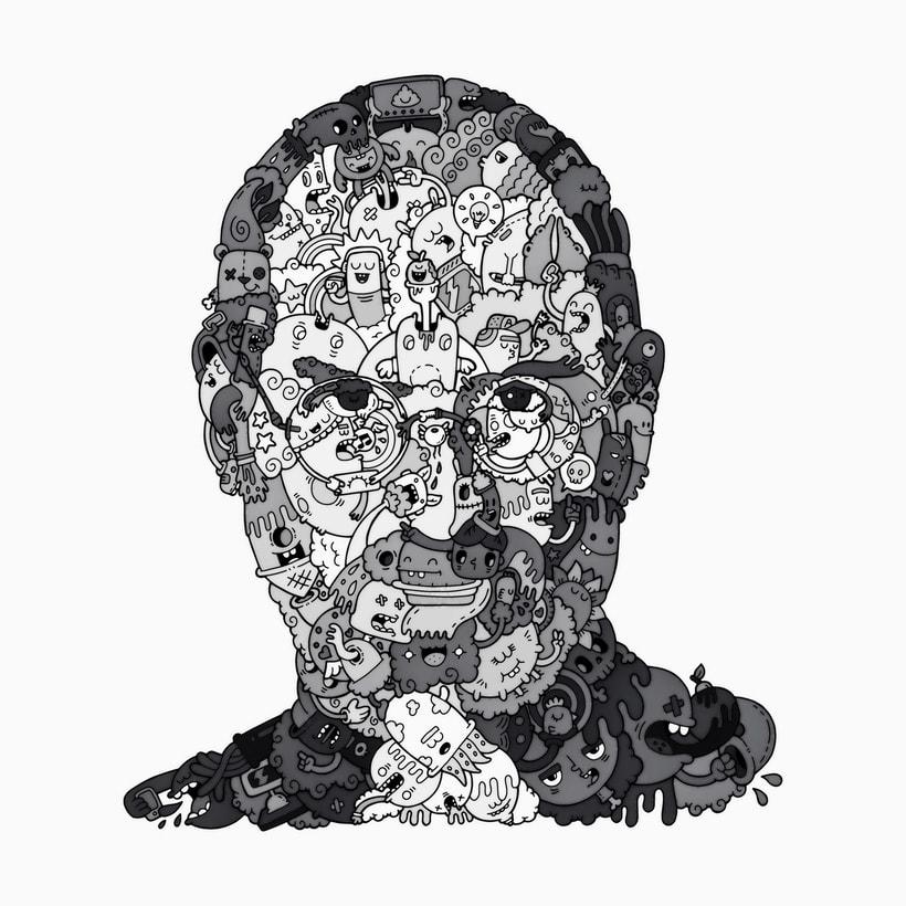 Ilustracion de Steve Jobs  0