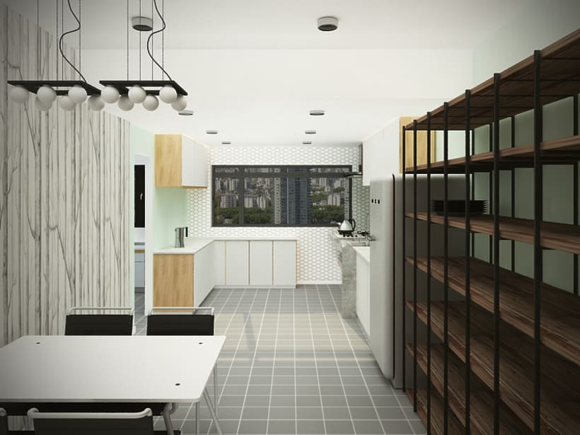 Apartment in Buenos Aires / Renders 8