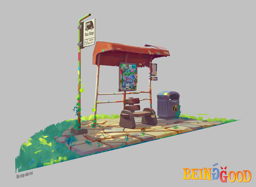 Being Good - Bus stop -1