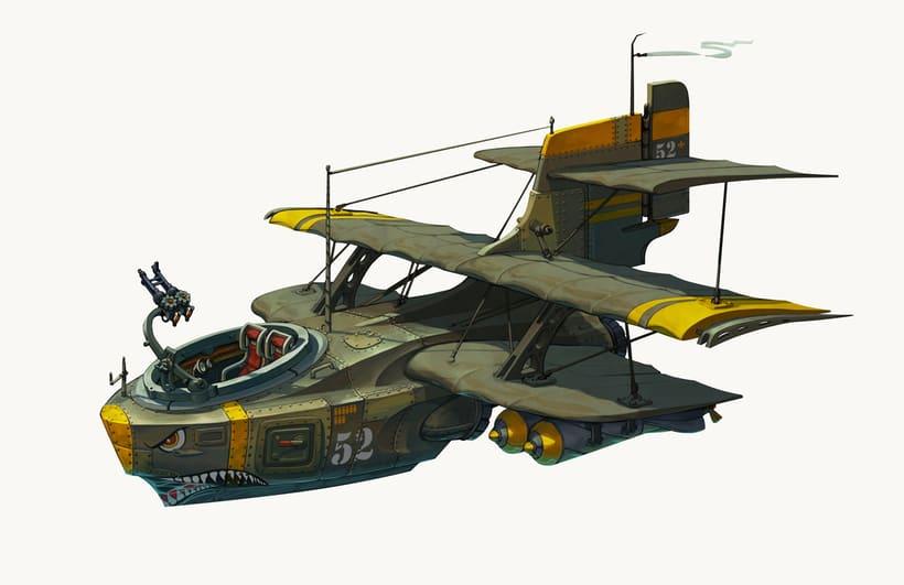 "B -104 ""Le petit bâtard"" -1"
