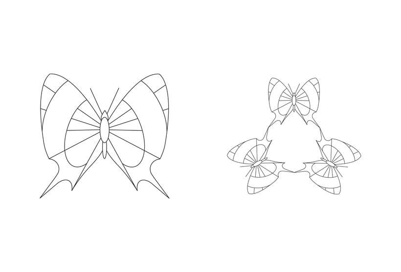 Serie - Gráficos con Mariposas -1