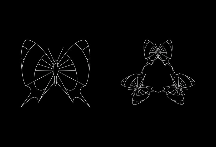 Serie - Gráficos con Mariposas 1