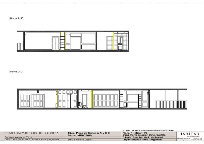Apartment in Buenos Aires/ planos 4