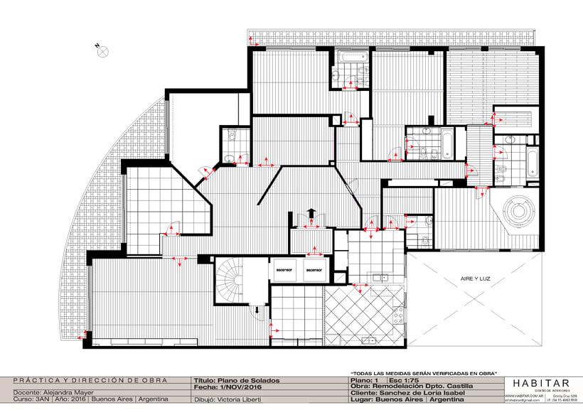 Apartment in Buenos Aires/ planos 15