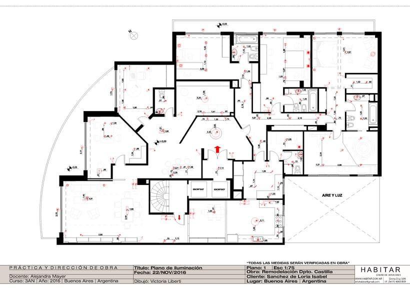 Apartment in Buenos Aires/ planos 19