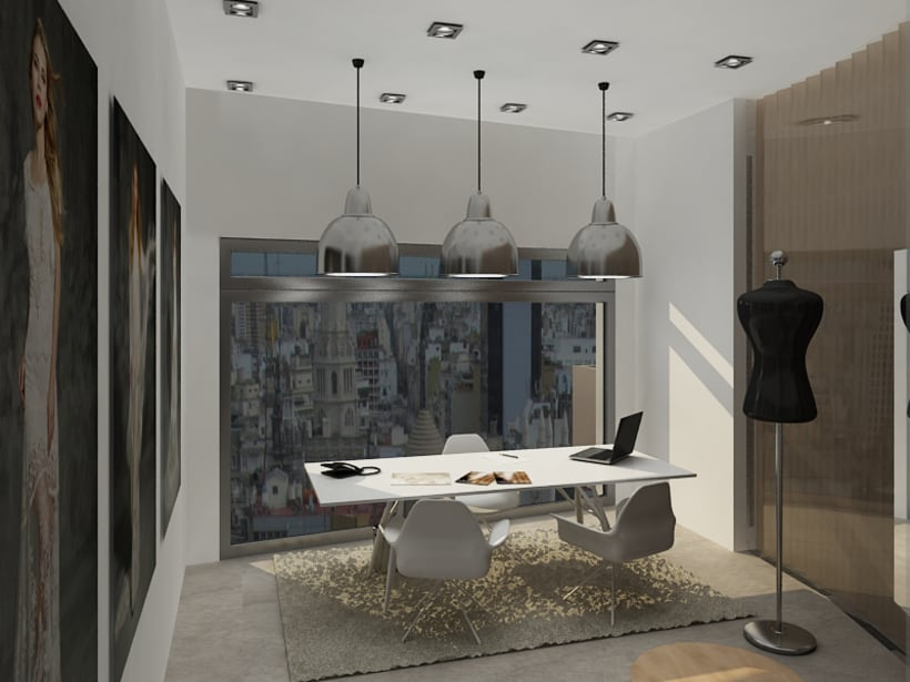 Office in Palermo, Buenos Aires / renders 2