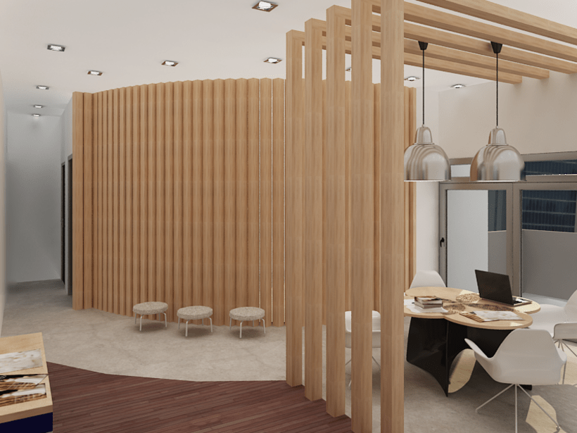 Office in Palermo, Buenos Aires / renders 1