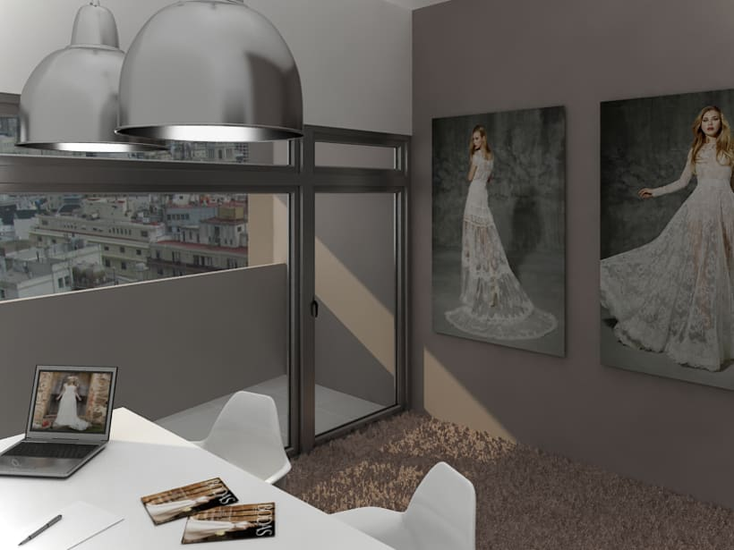 Office in Palermo, Buenos Aires / renders 3