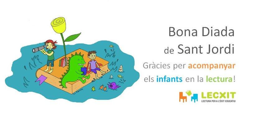 Ilustraciones de Sant Jordi para LECXIT (Lectura para el éxito educativo) 1
