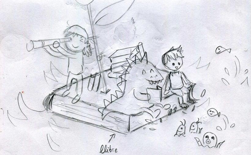 Ilustraciones de Sant Jordi para LECXIT (Lectura para el éxito educativo) 2