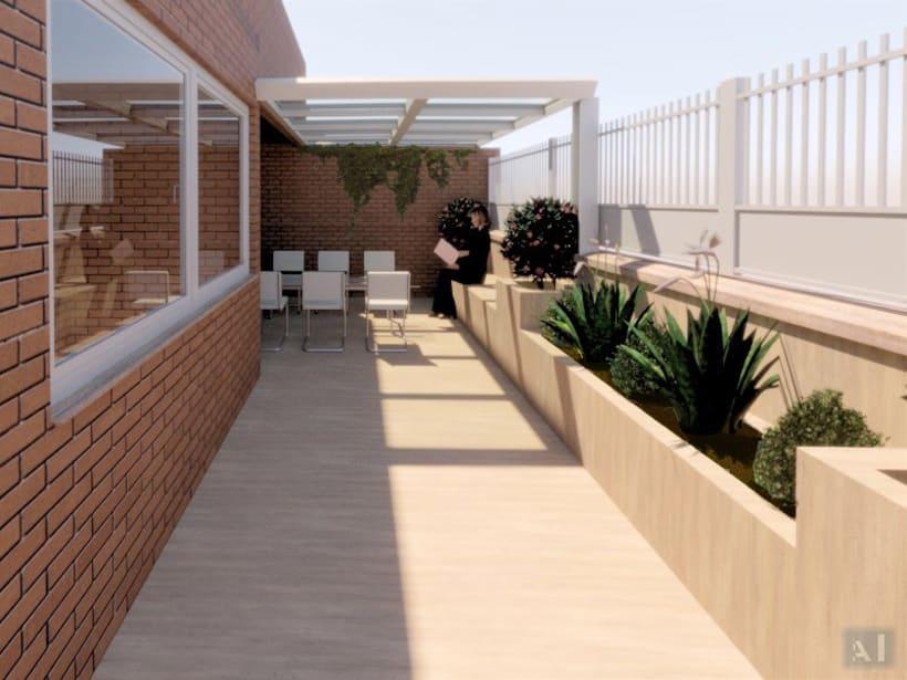 Diseño de Terraza Alcobendas. 3
