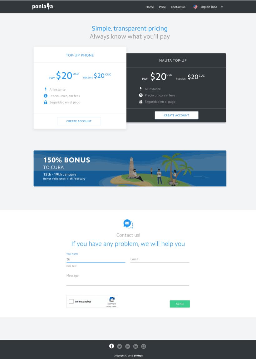 Diseño web para start-up  3