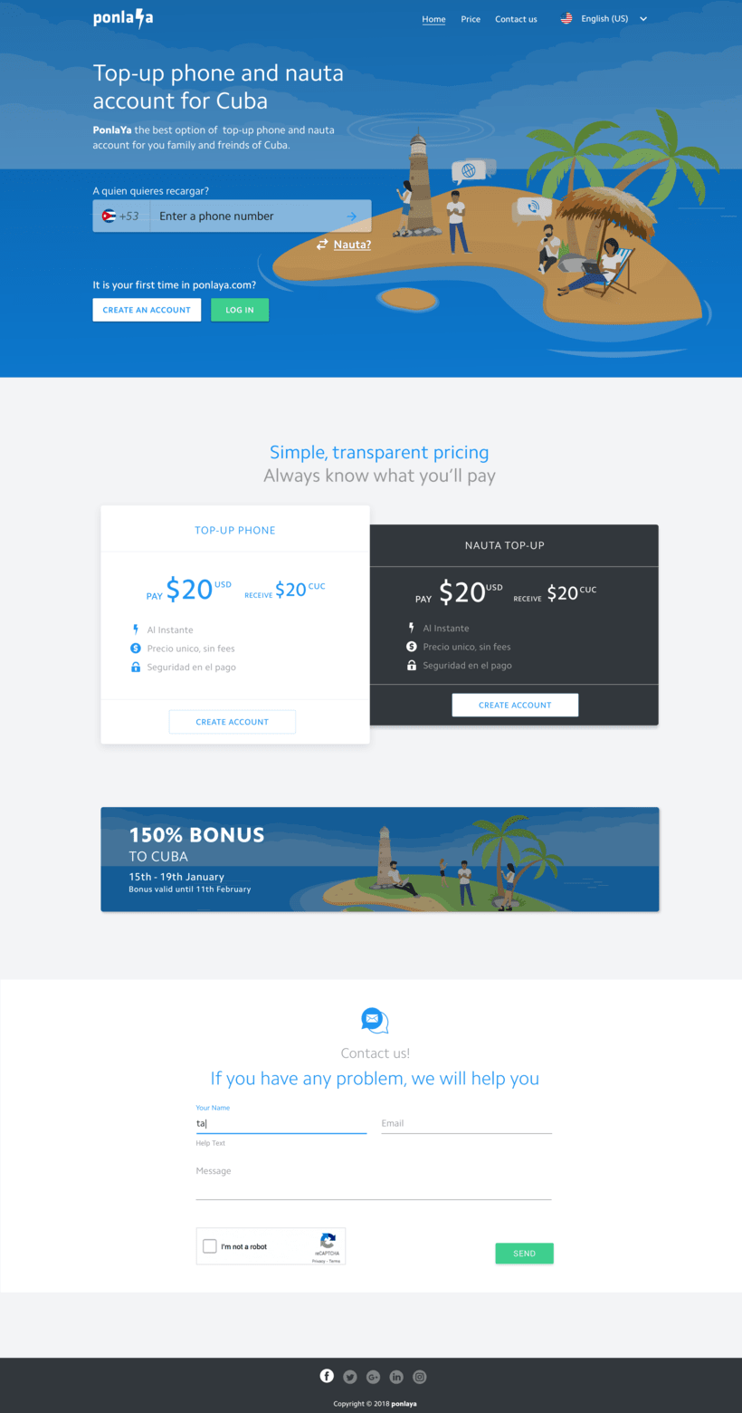 Diseño web para start-up  4