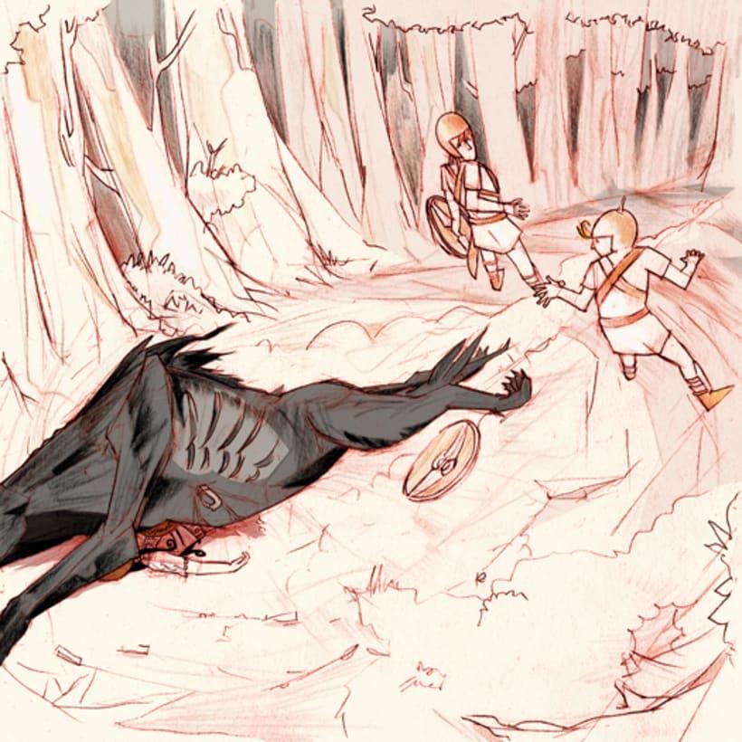 Aiuni y la Caetra Mágica. 21