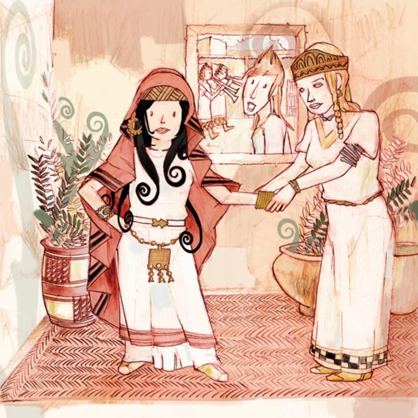 Aiuni y la Caetra Mágica. 23