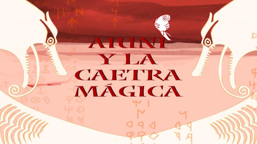 Aiuni y la Caetra Mágica. 24